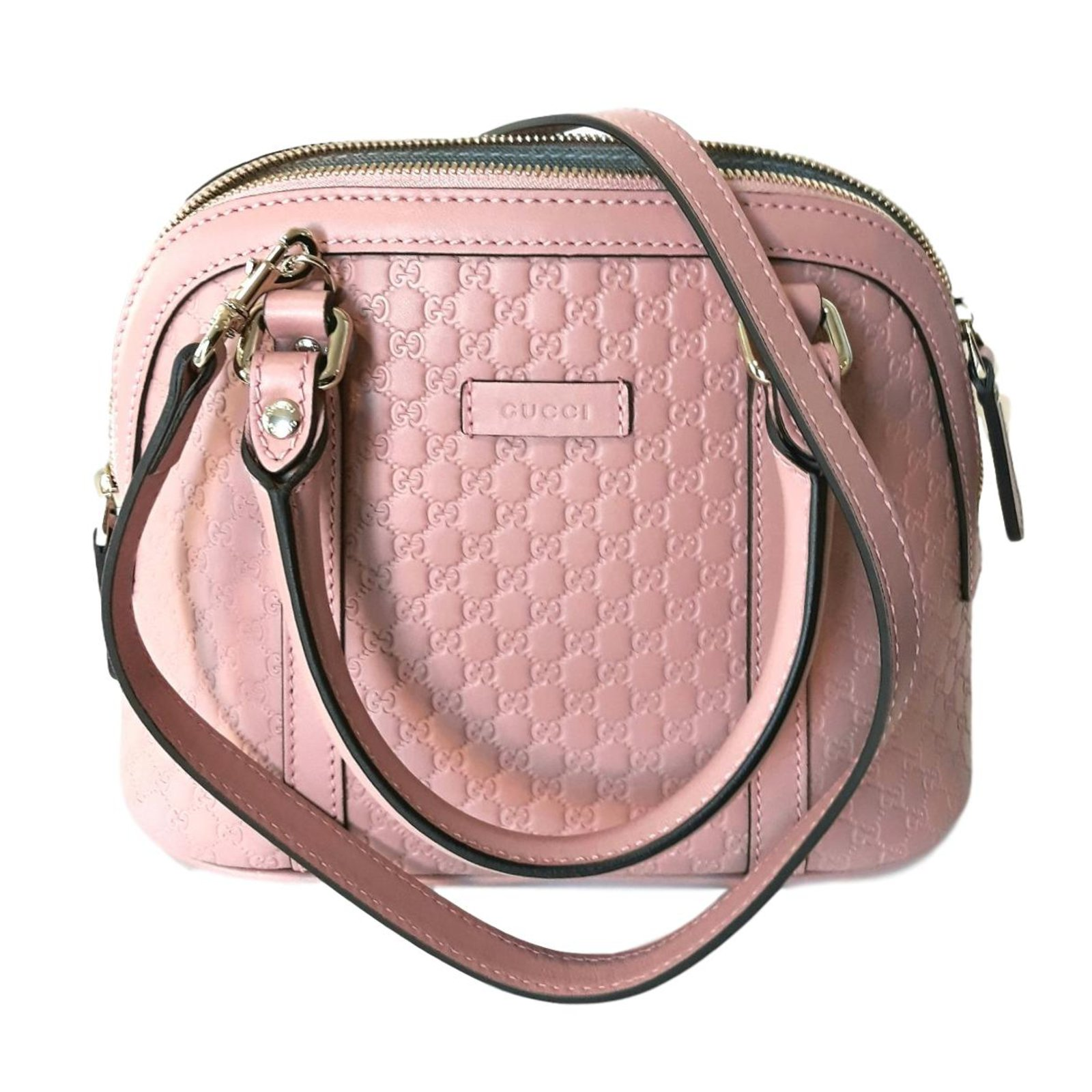 Gucci Handbags Leather Pink