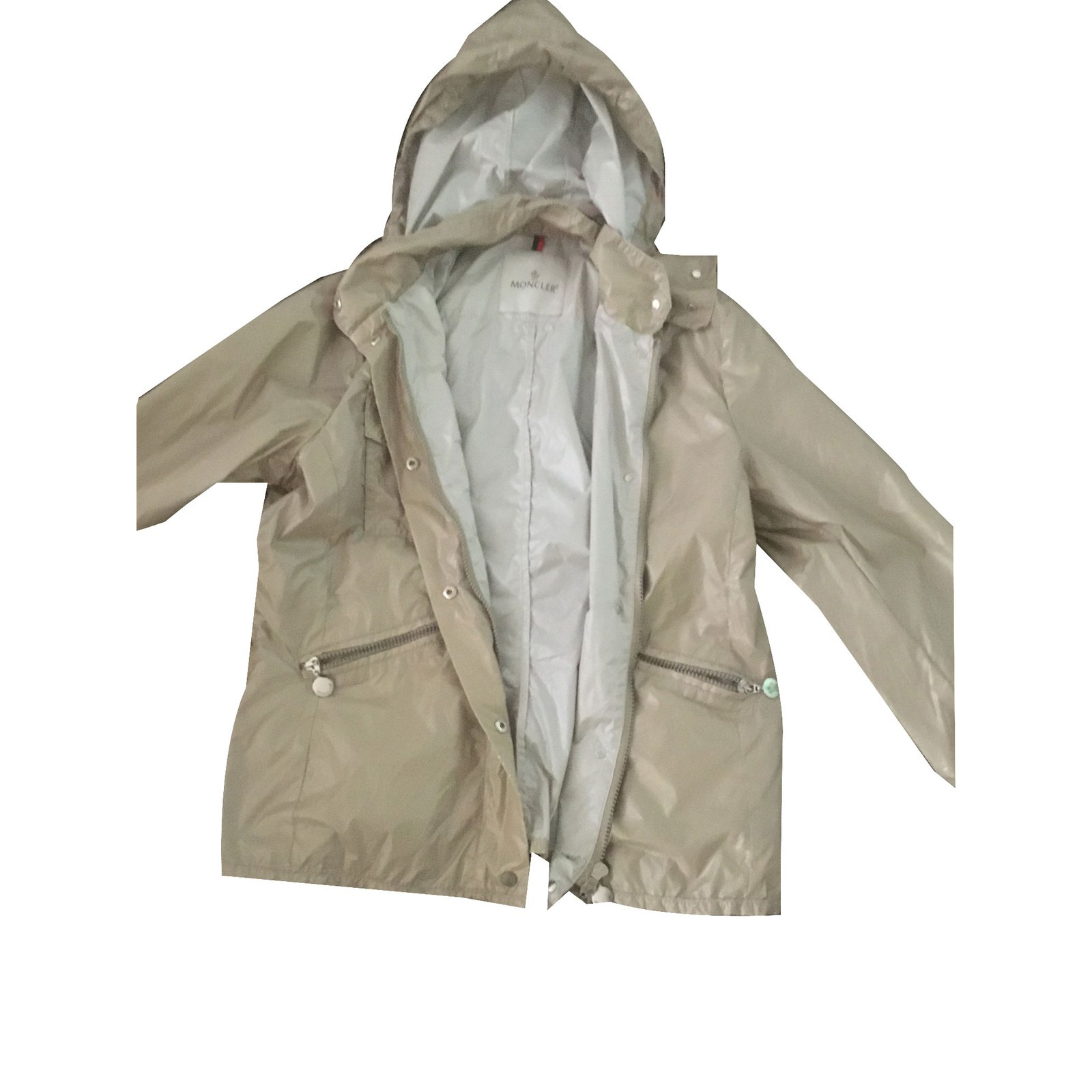 Moncler Jacket Jackets Other Beige ref.73789