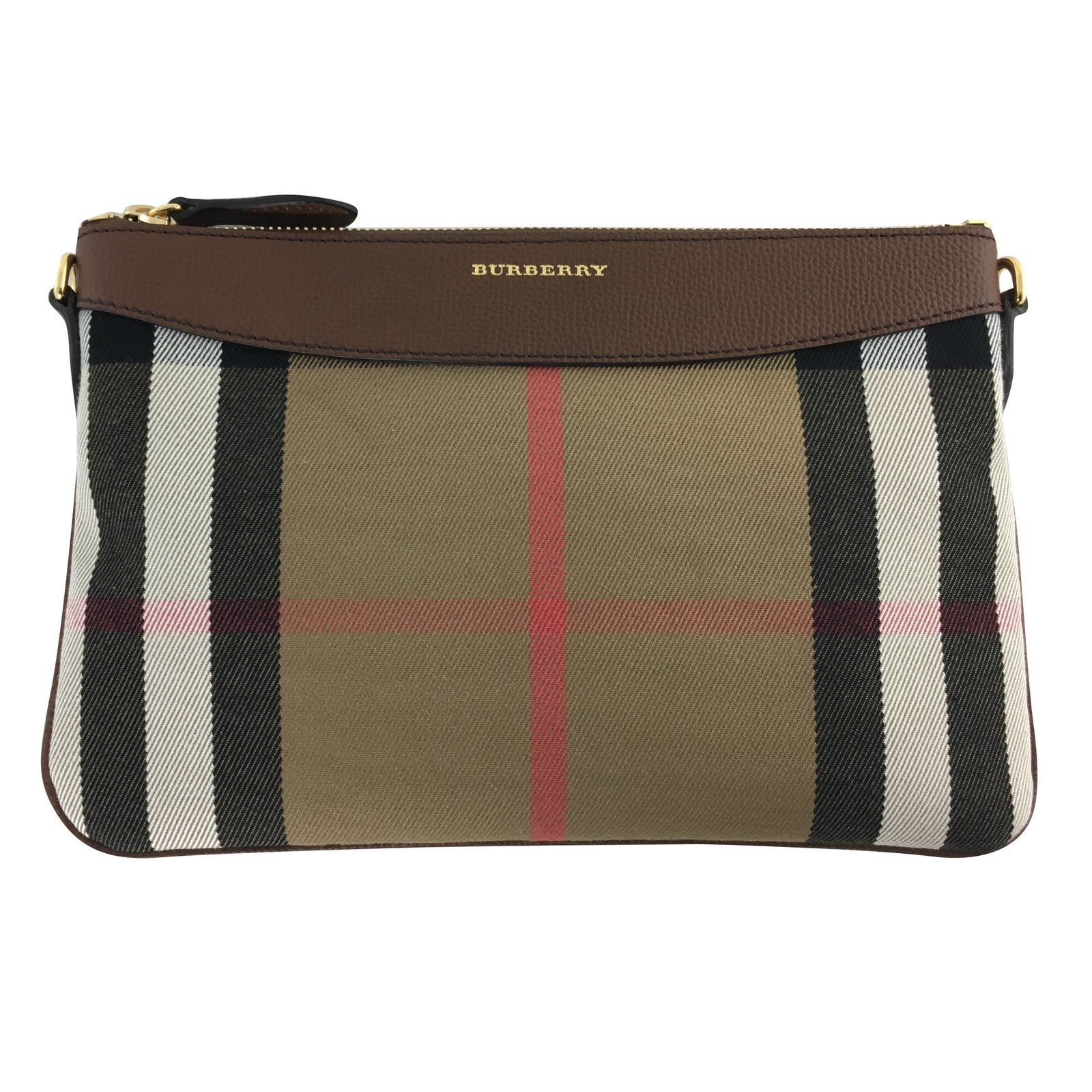 Burberry Clutch Bag Handbags Leather Other ref.74222 - Joli Closet b076fa7d1b314