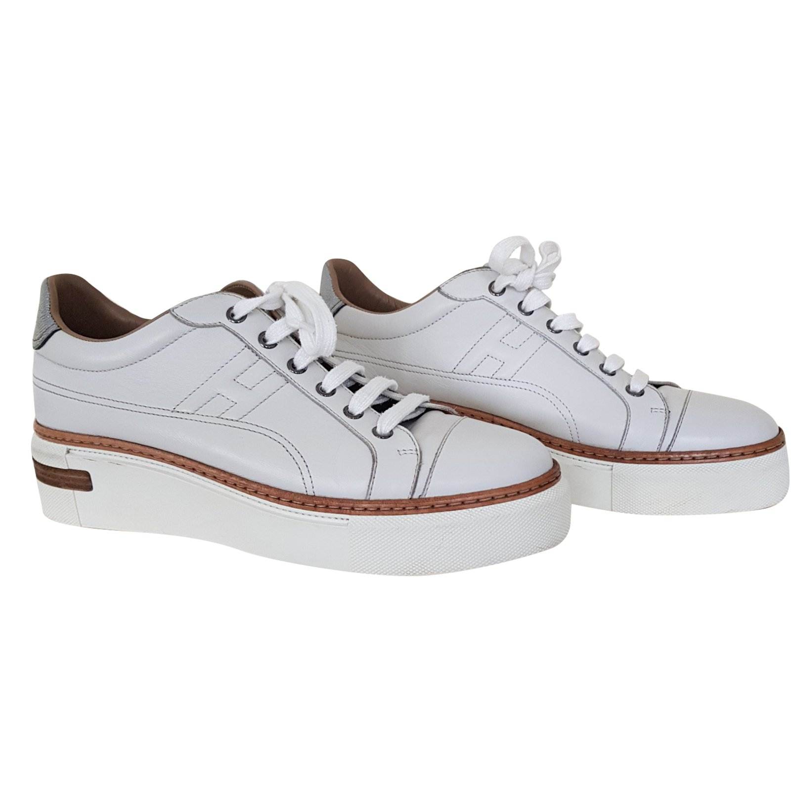 Hermès Polo Sneakers Sneakers Leather