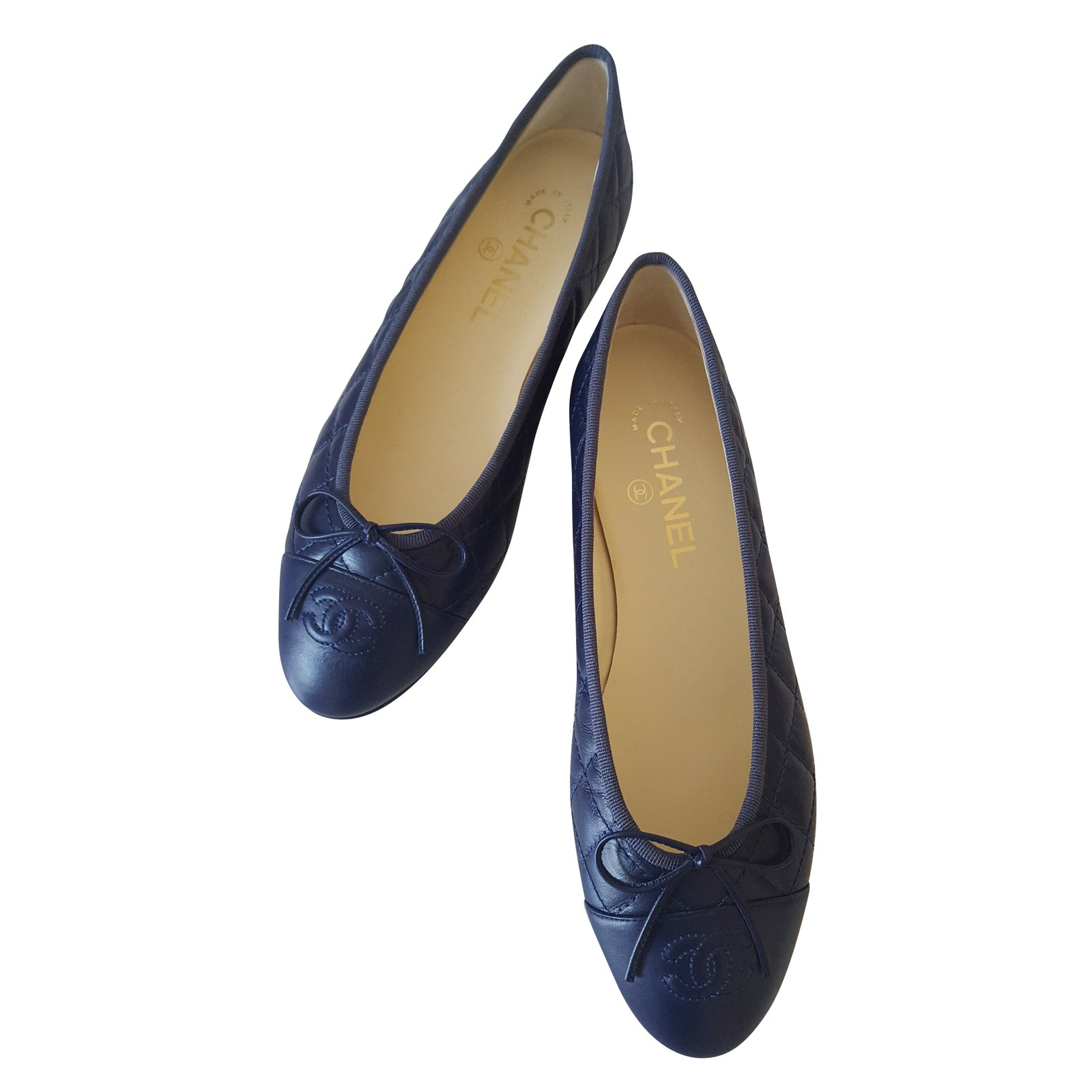 ballerines bleu marine