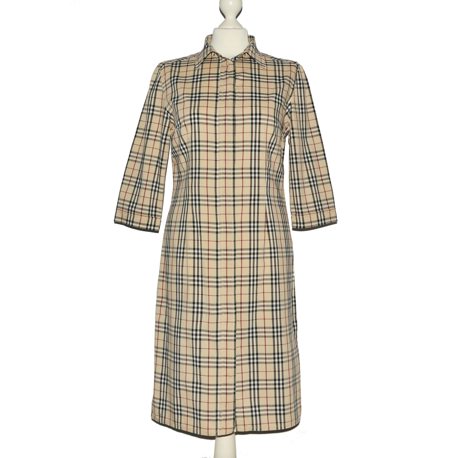 Robes Burberry Robes Autre Multicolore ref.