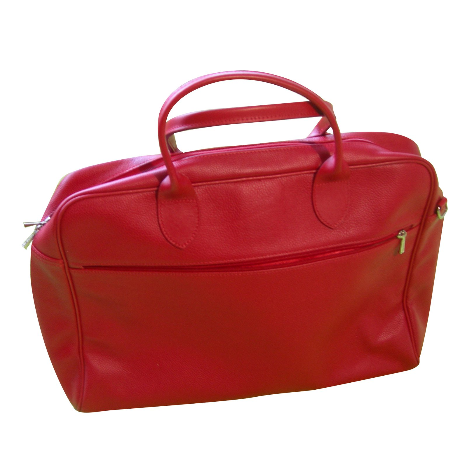 Briefcase Red Le Longchamp Foulonné Leather Borsette Ref aw5qfIfx
