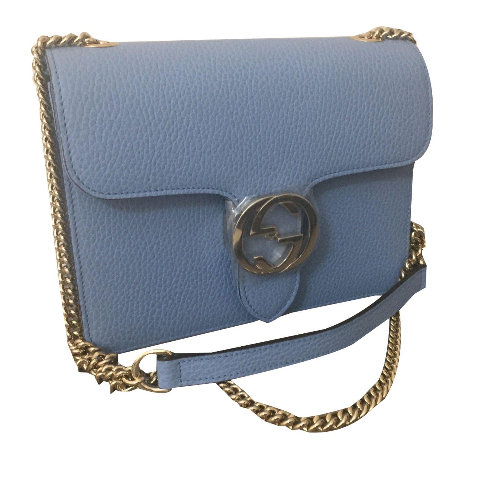 924bc83e91fa Gucci interlocking Clutch bags Leather Other ref.75029 - Joli Closet