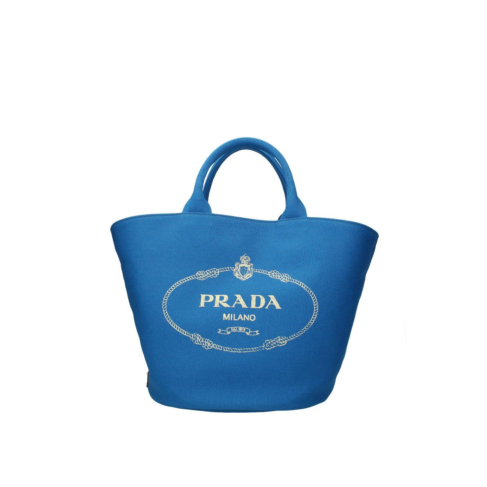 46242404b4f1 Prada Bag Handbags Other Blue ref.75160 - Joli Closet