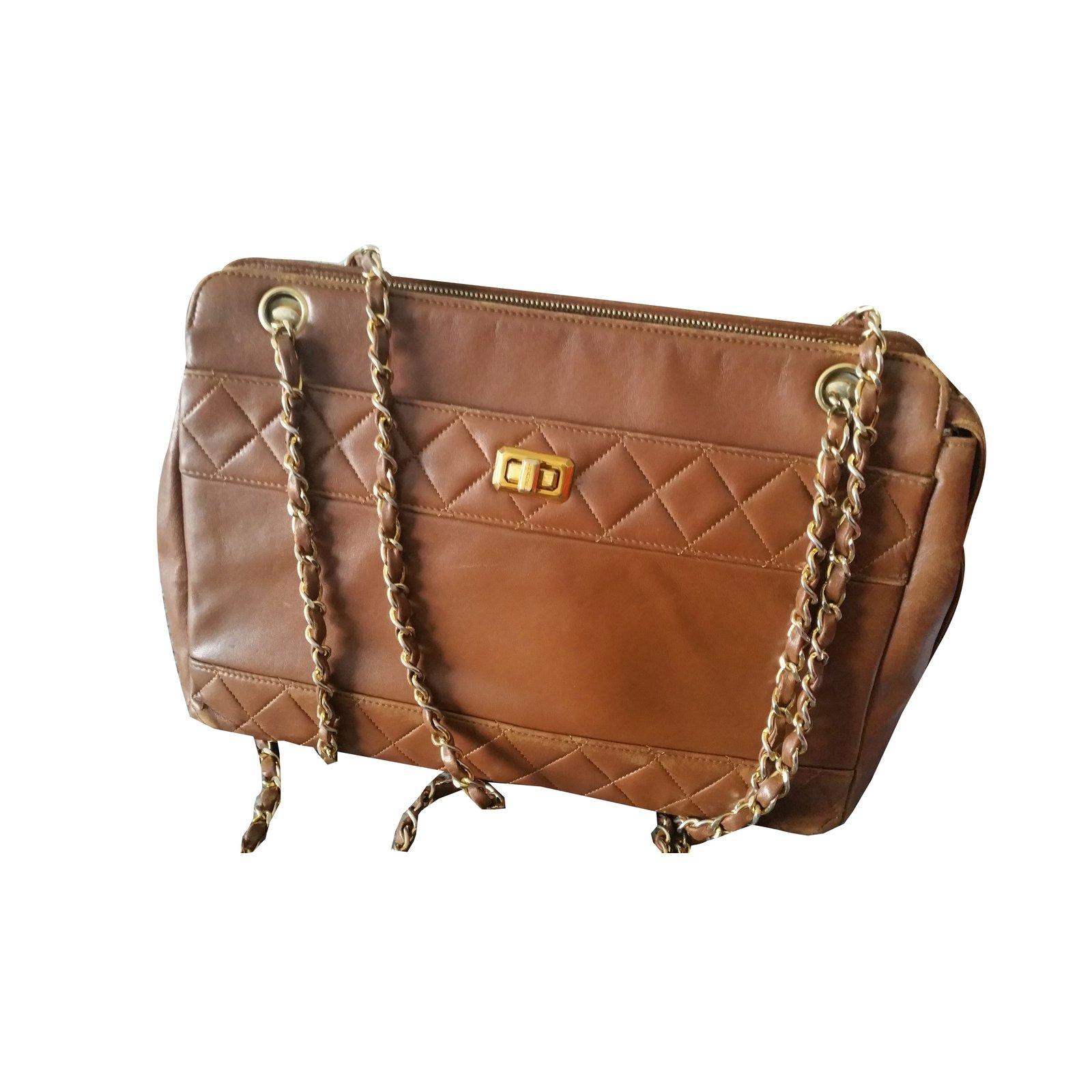 c293302b2cb9 Chanel Bag Handbags Leather Caramel ref.75248 - Joli Closet