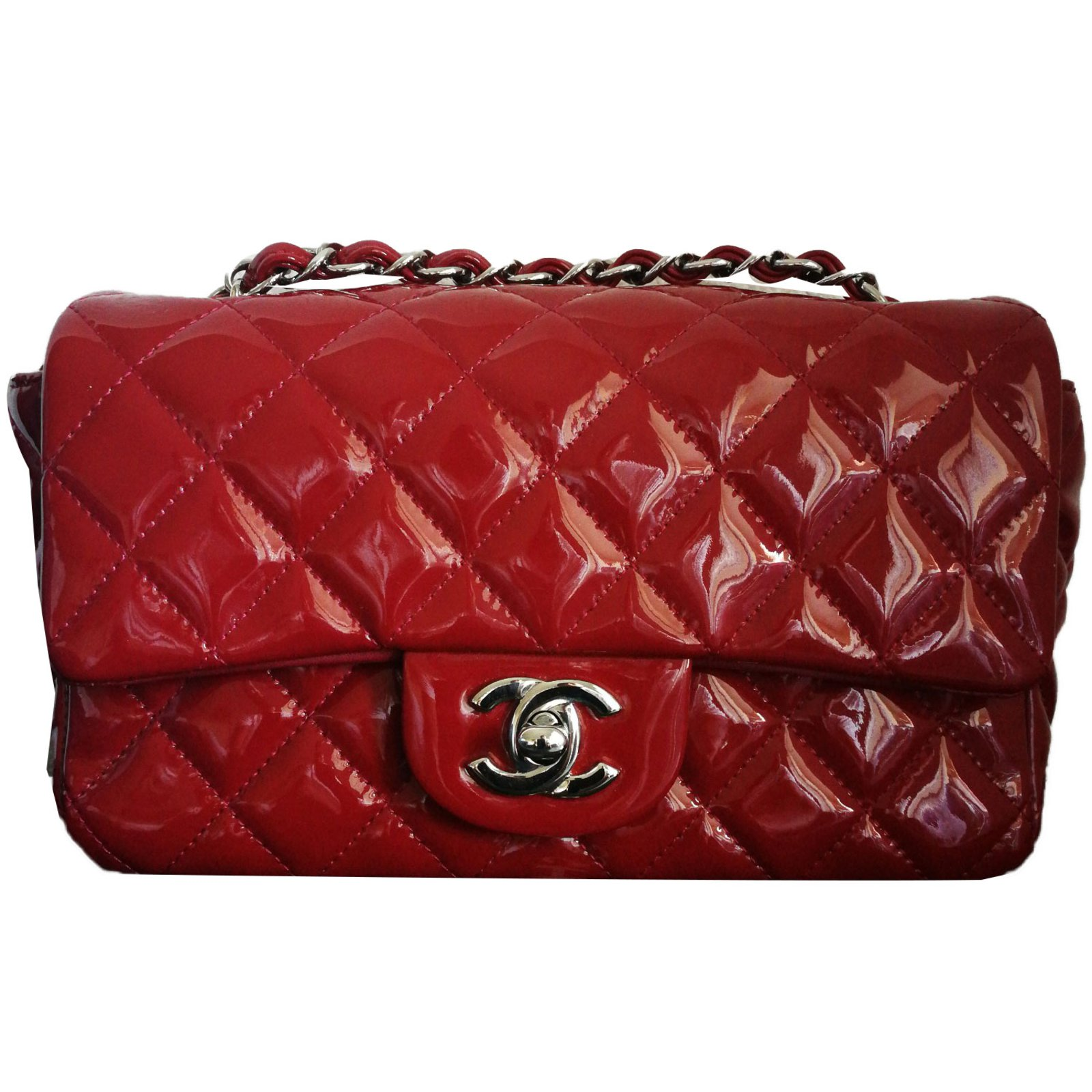 cc4c1a53c08a Chanel Bag Handbags Leather Red ref.75552 - Joli Closet