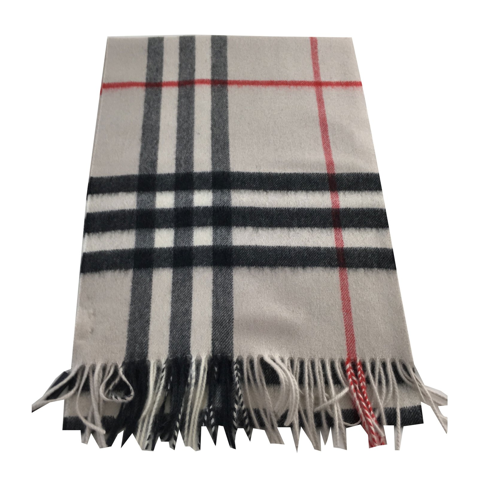 Burberry Giant Check Cashmere scarf. Scarves Cashmere Other ref.75557 66e688a383307