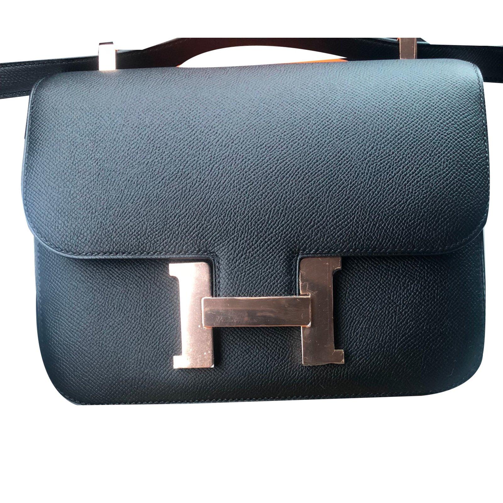 8a55f3a8461e ... order hermès constance 24 handbags leather black ref.75856 d5990 bbbcd