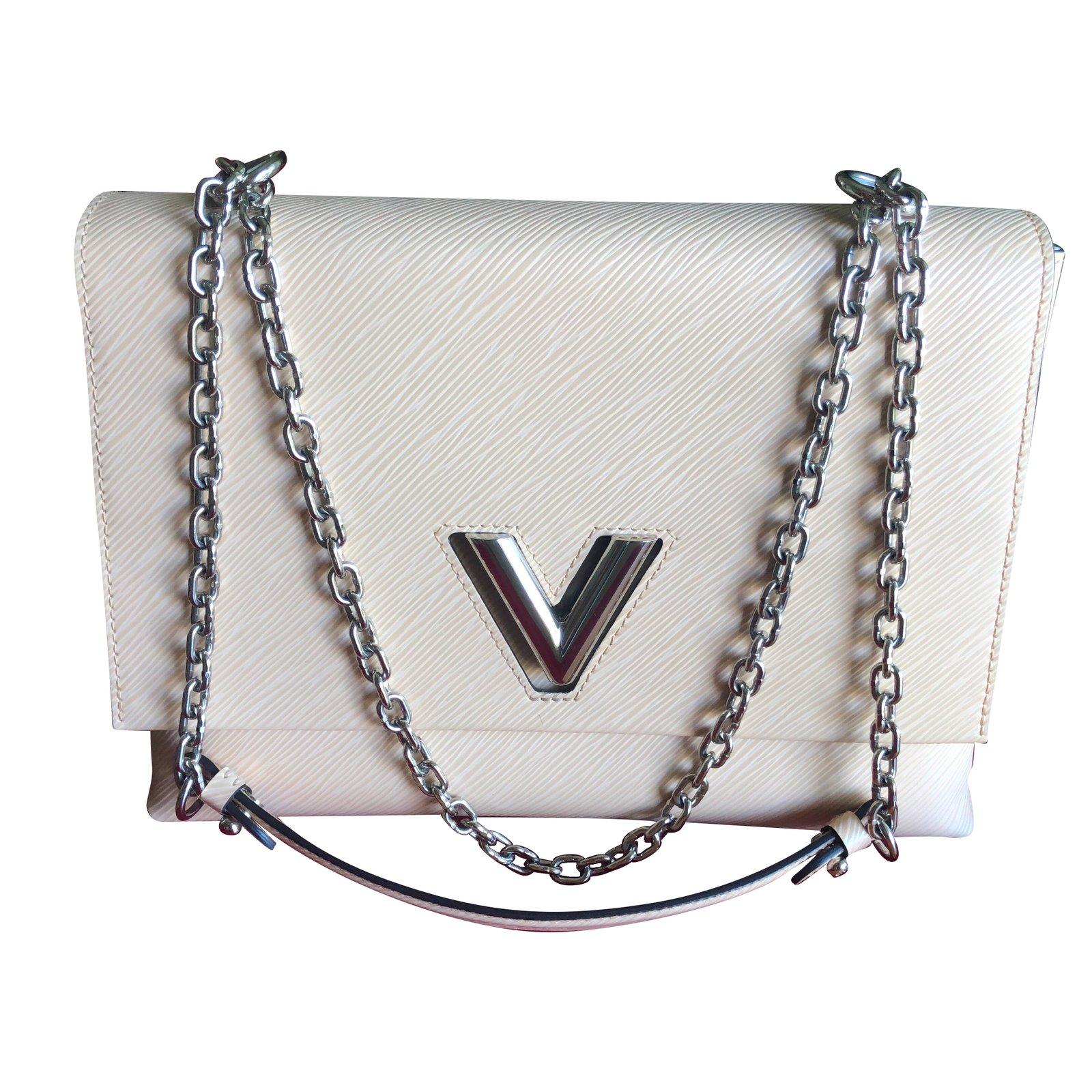 5e736d9a77ec9 Louis Vuitton Louis Vuitton Twist GM bag Handbags Leather Beige ref.75901