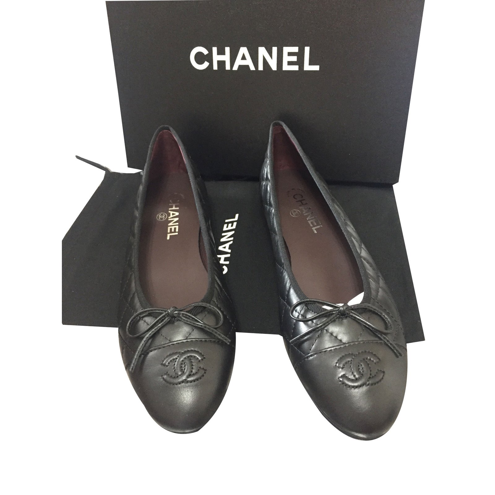 Chanel Quilted Ballerinas Ballet flats