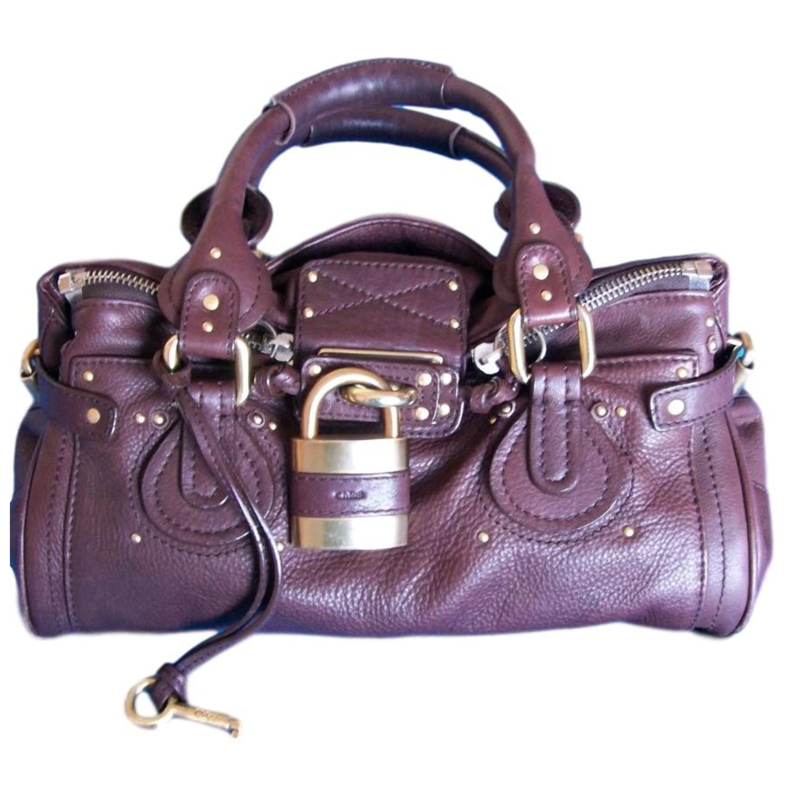 948a0c2556 Chloé paddington Handbags Leather Brown
