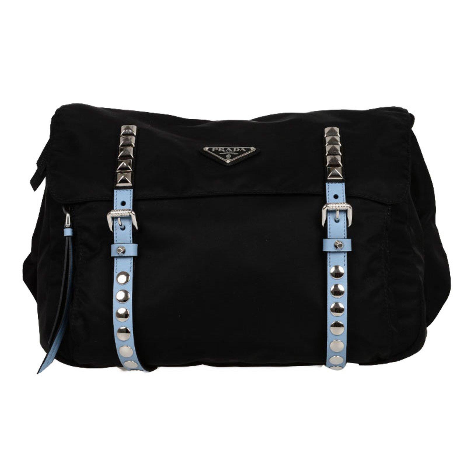 ... where can i buy prada studded bag handbags nylon black ref.76589 a9134  2ce81 6208091867546