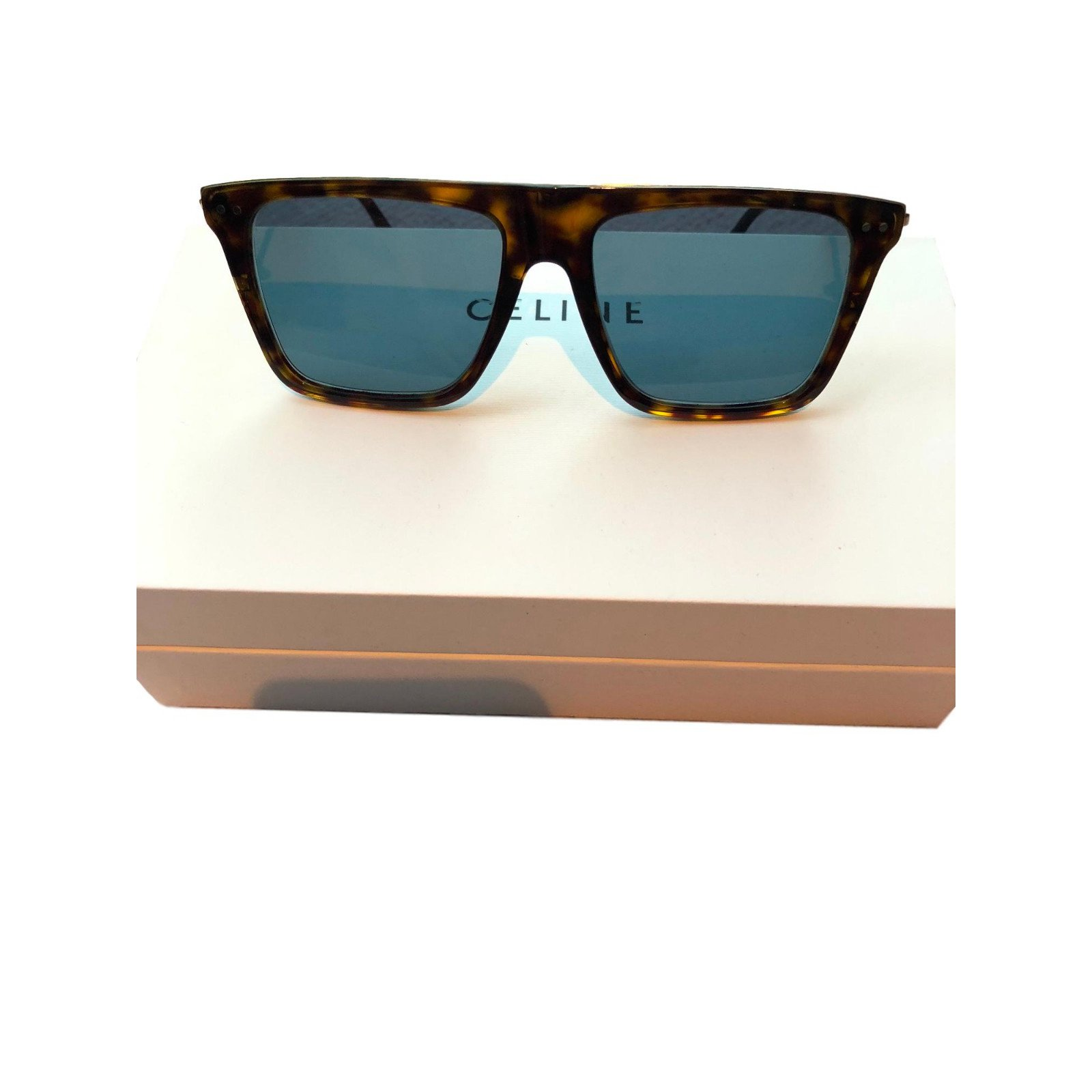 53ca897ab20c Céline Squared-aviator Sunglasses Metal Brown ref.77035 - Joli Closet