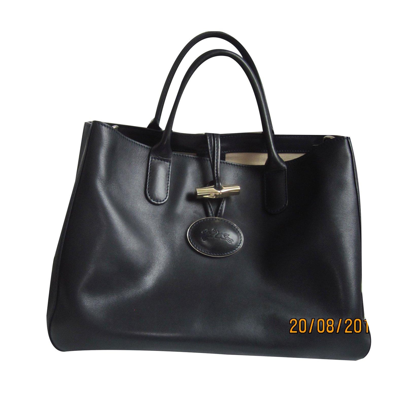 Sac Longchamp roseau héritage