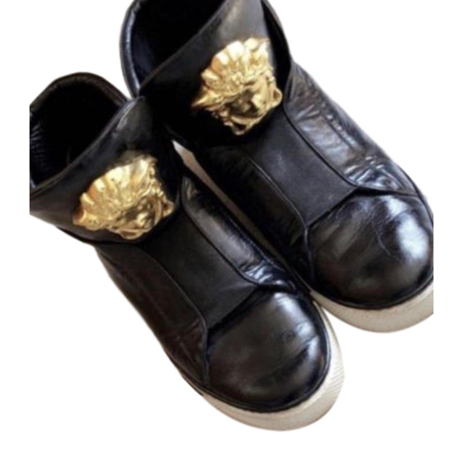 Versace sneakers Sneakers Leather Black