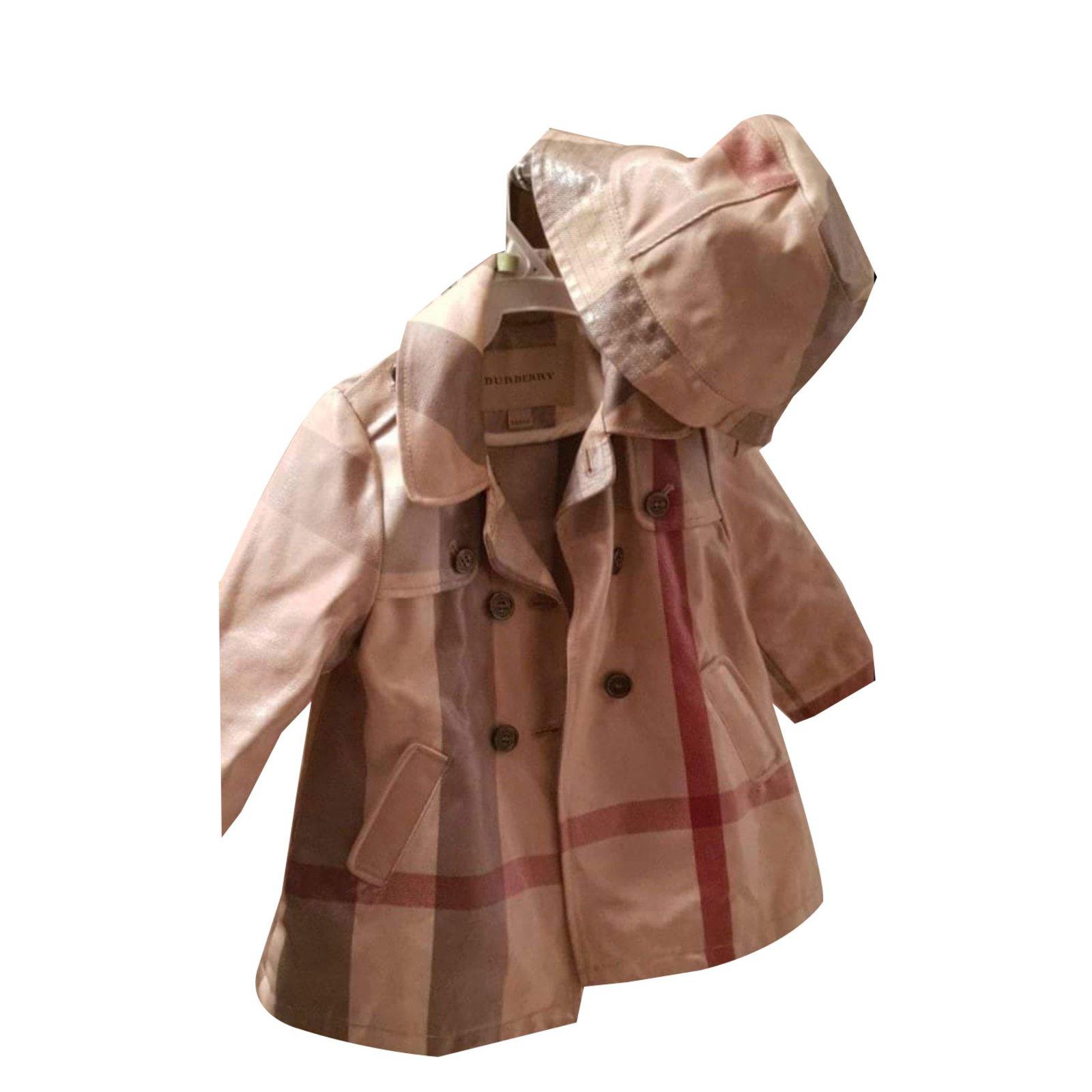 burberry kid coat