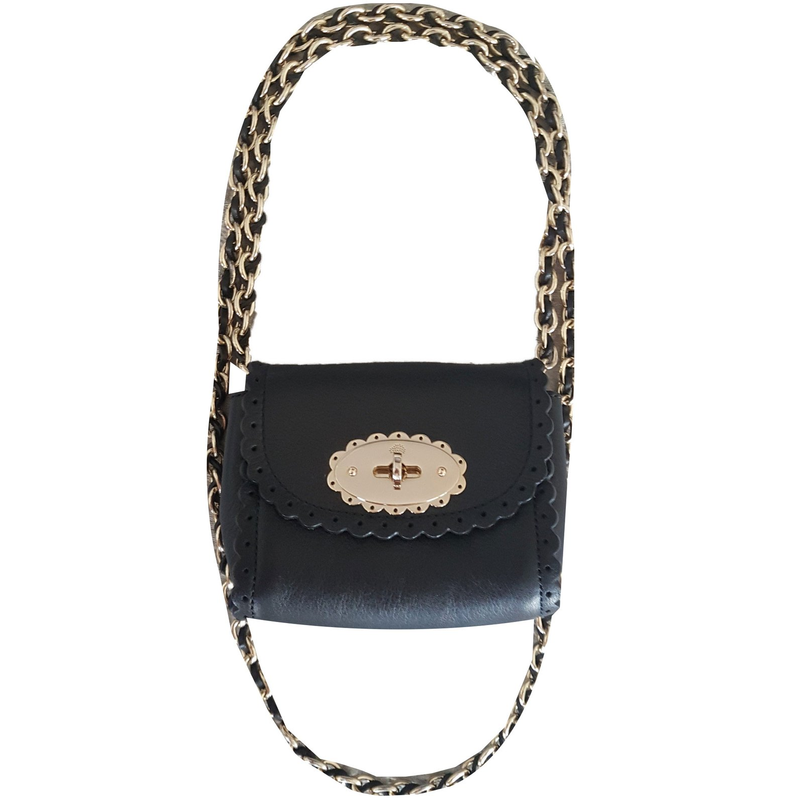 90301500c598 ... coupon code for mulberry mini lily cookie bag handbags leather black  ref.78648 2f38e 2a7ad