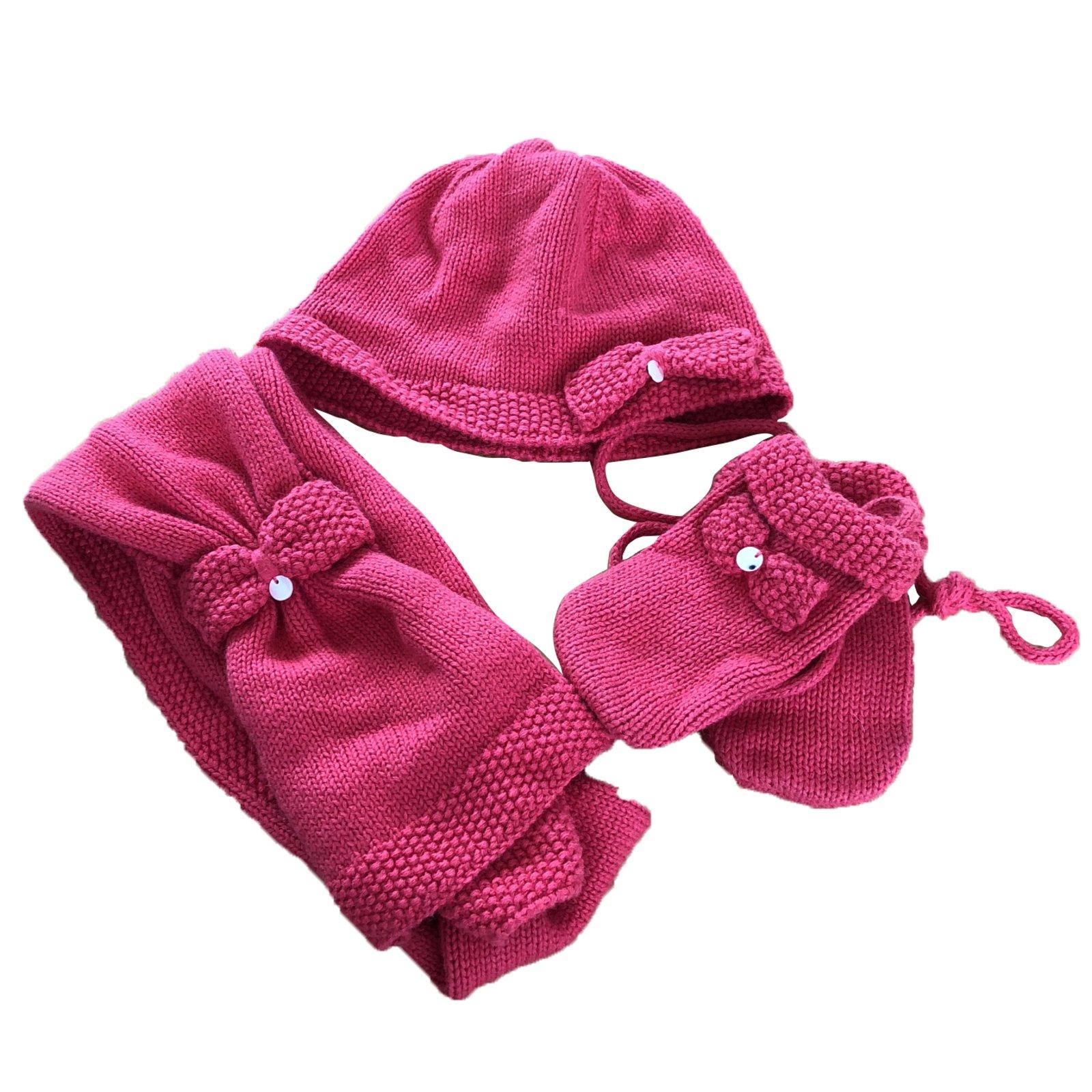 Tartine et Chocolat Hats Beanies Gloves Hats Beanies Gloves Cotton Dark red  ref.79081 8ba0dd0fd50