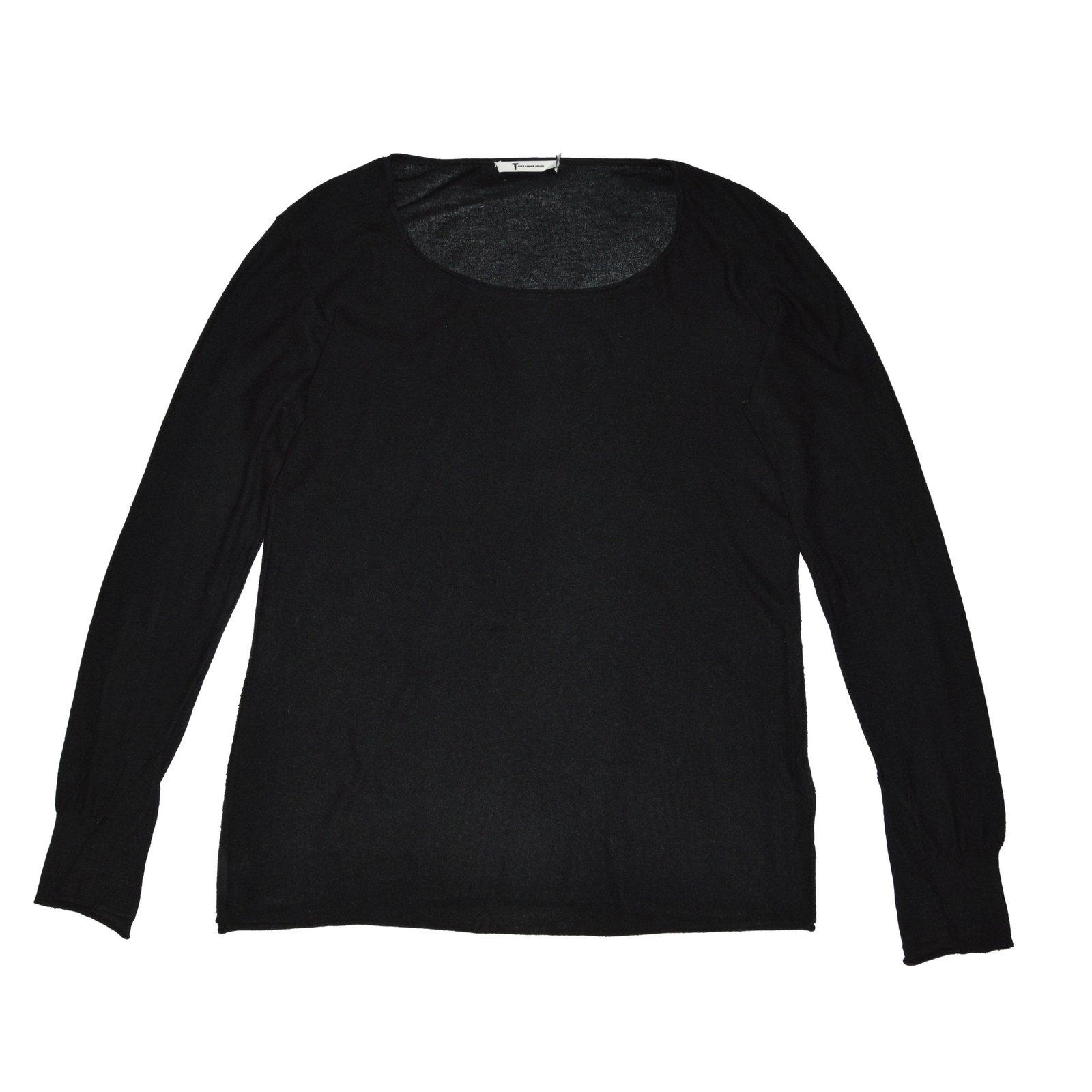 a9e374496b T By Alexander Wang Sweaters Sweaters Silk
