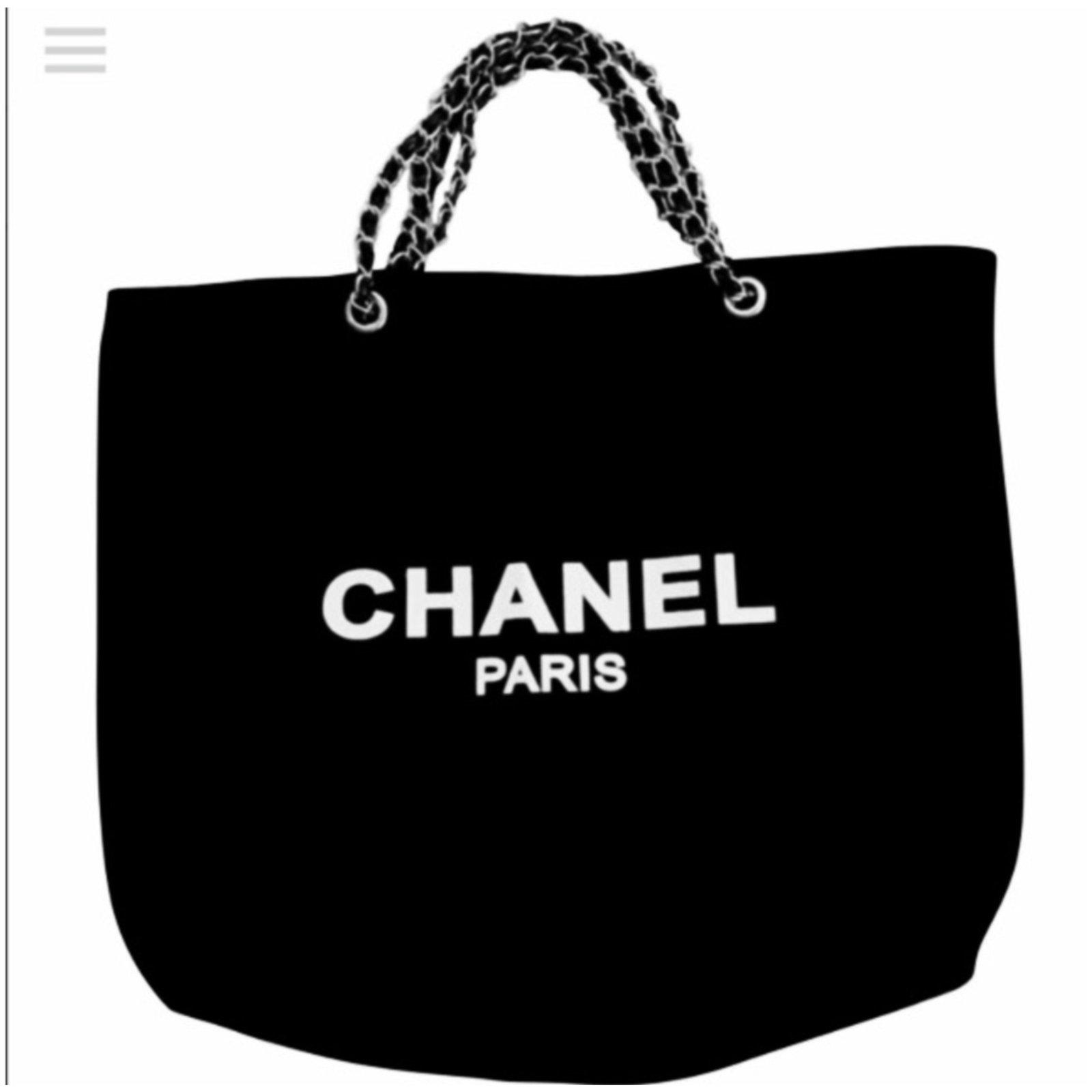 9f9cf87d6d7d Chanel Handbags VIP gifts Cloth Black ref.79670 - Joli Closet