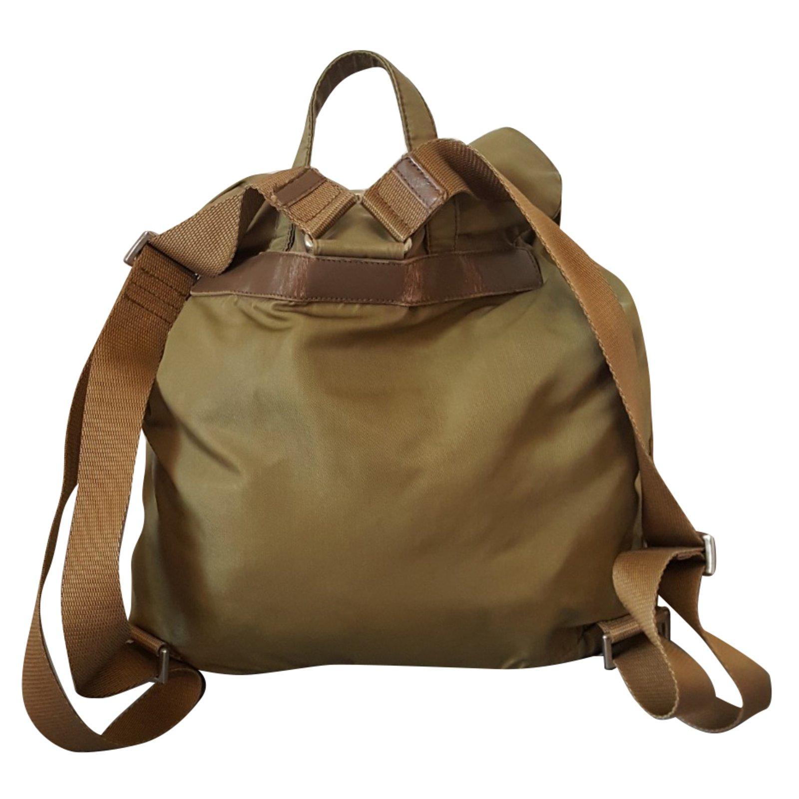 32cd9fc791e2 aliexpress prada bz0025 nylon backpack in green 9606c 024f1; reduced prada  backpacks backpacks synthetic green ref.79708 b29a9 5d457