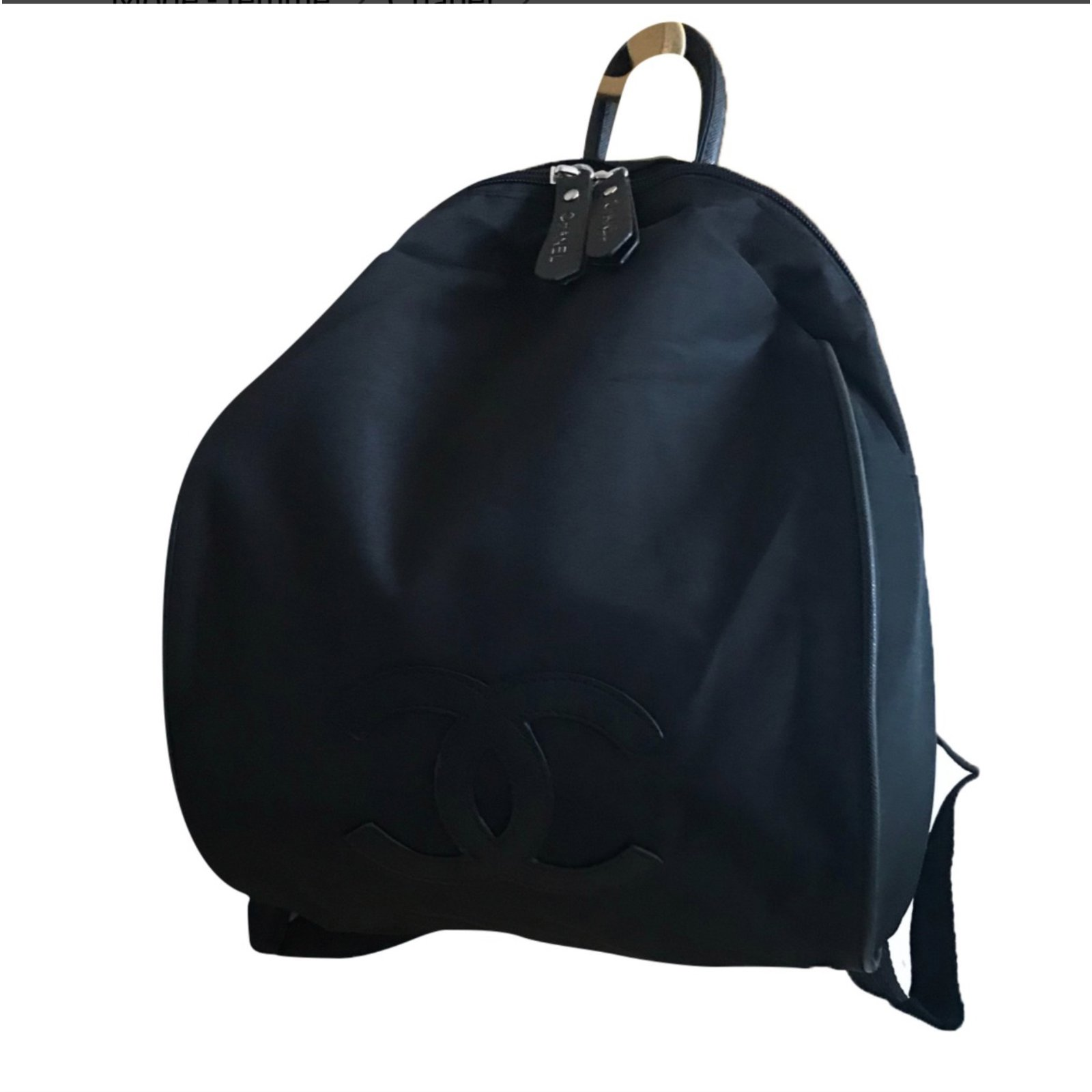 78ff80f6de8c Chanel backpacks vip gifts cloth black ref joli closet jpg 1600x1600 Black  chanel backpack