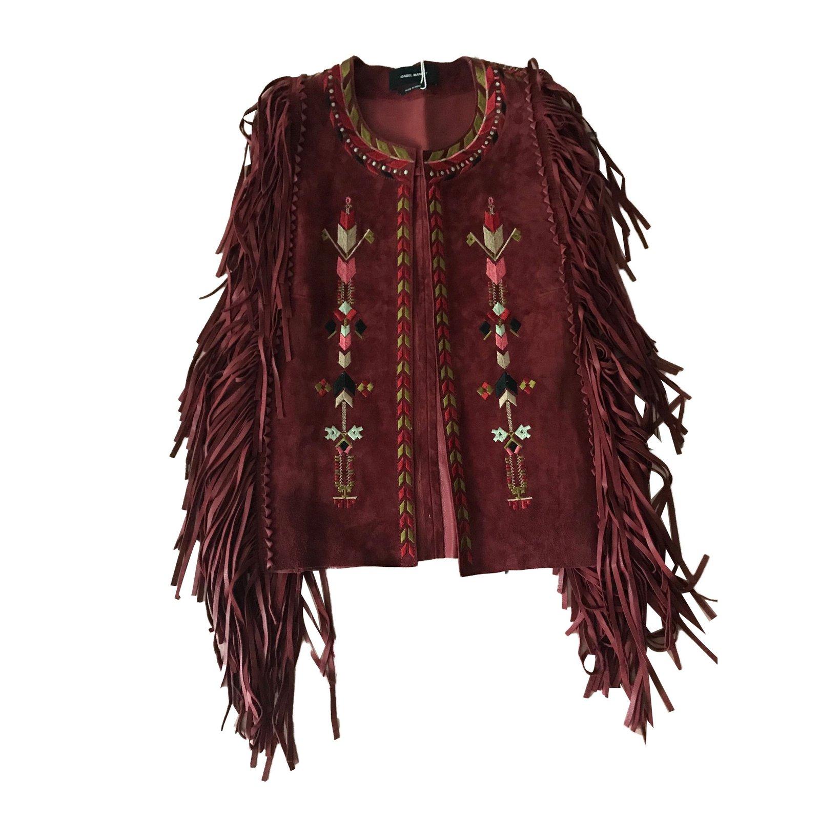 Cuir Bordeaux Joli Marant Closet Ref Vestes 82065 Isabel qvRwxF7