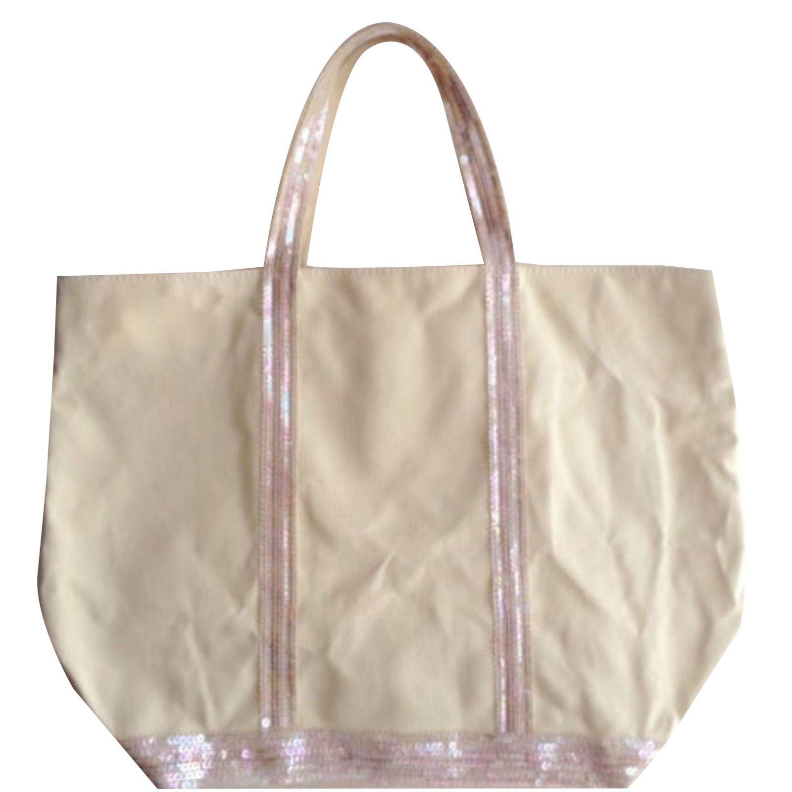 Vanessa Bruno Handbags Cotton Yellow Ref 82433