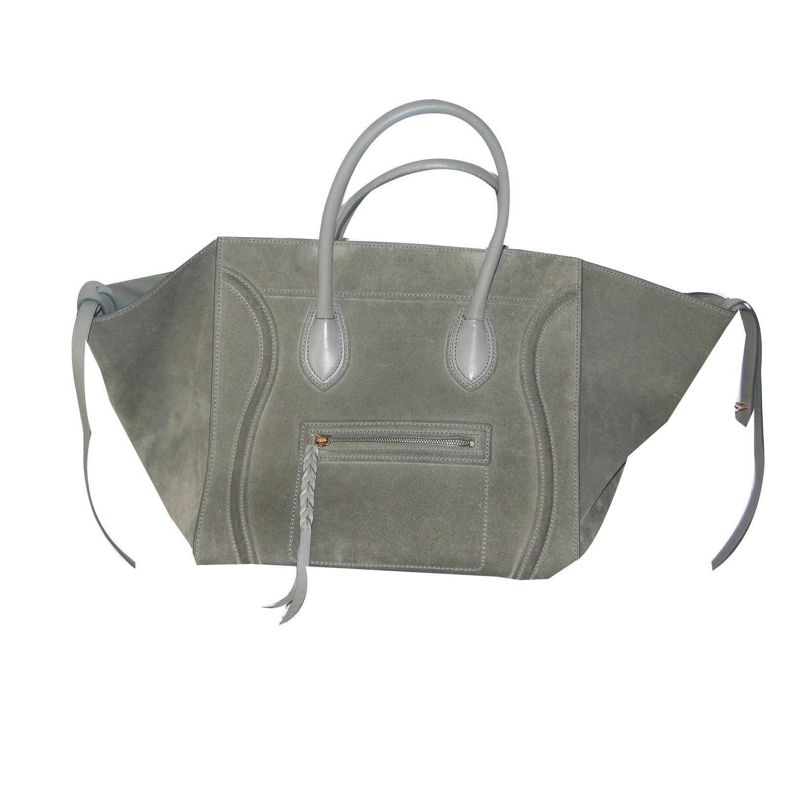 Céline Large luggage PHANTOM Handbags Leather 085153790e732