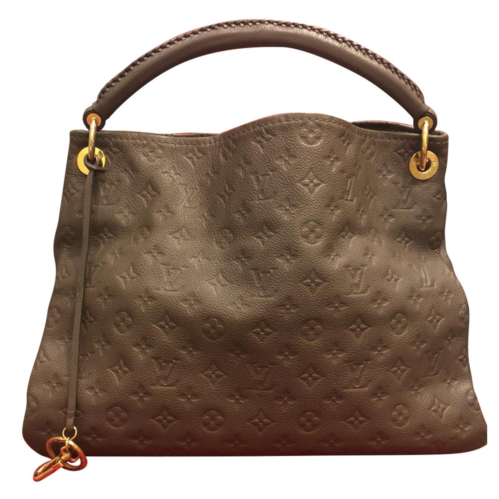 Sacs à main Louis Vuitton Sac à main Cuir Marron ref.84323 - Joli Closet 536f924e4f4