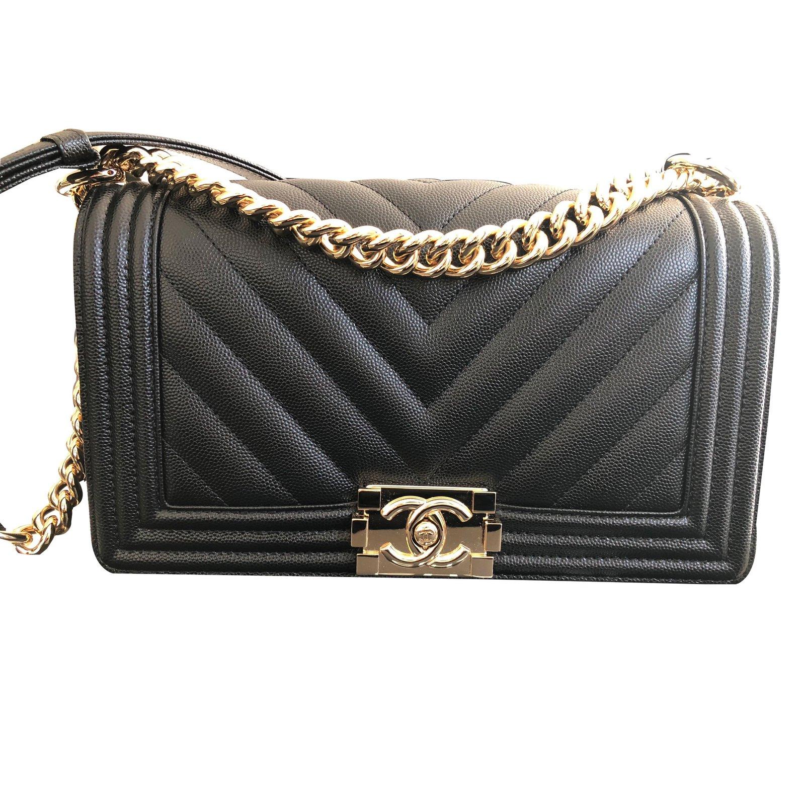1436e44f4f7 Chanel Sac Boy Handbags Pony hair Black ref.85068. Description ...