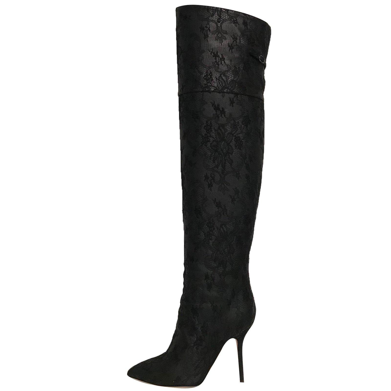 Dolce \u0026 Gabbana Thigh-high boots Boots