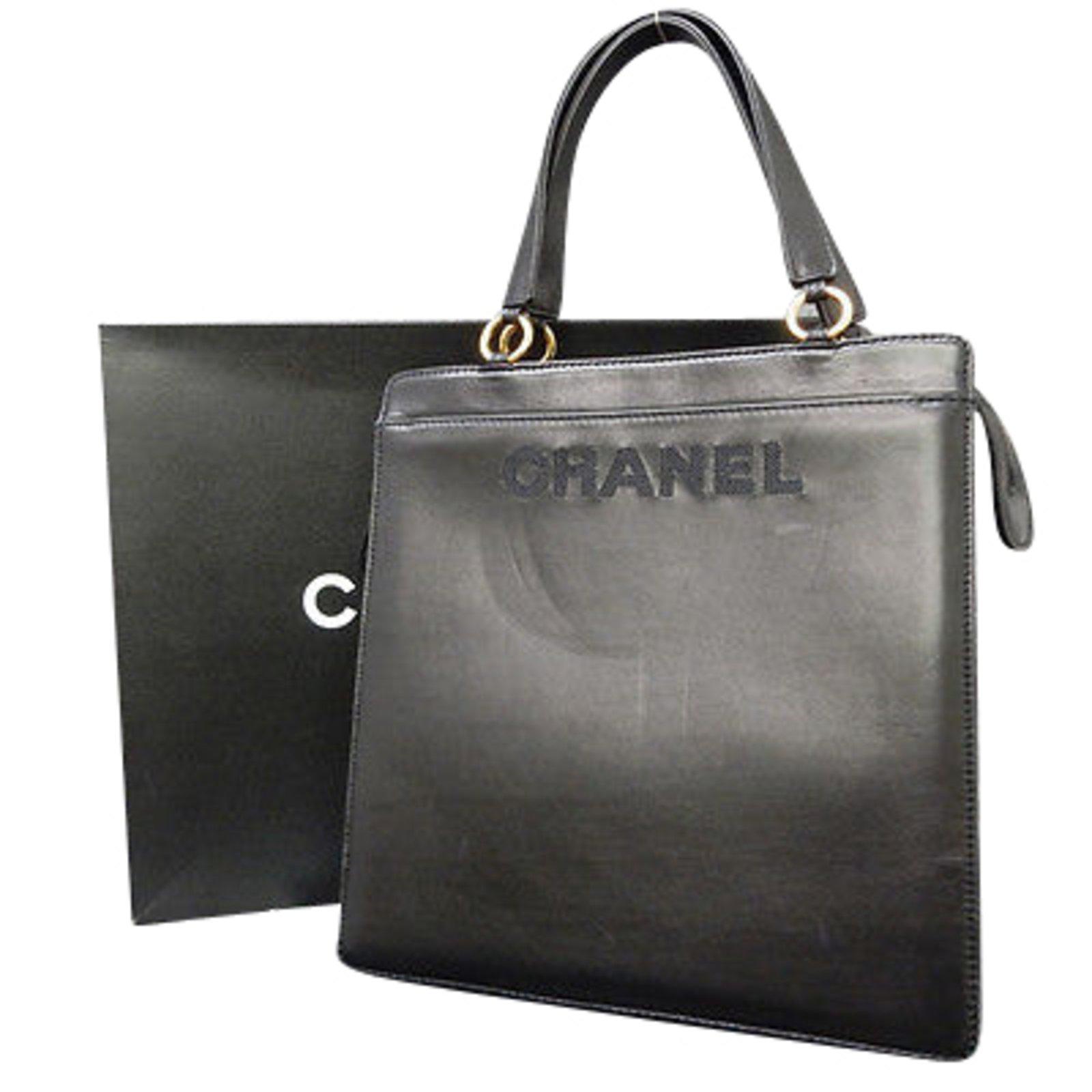 Sacs à main Chanel Sac bandoulière Cuir Noir ref.86805 - Joli Closet 3bc58805103