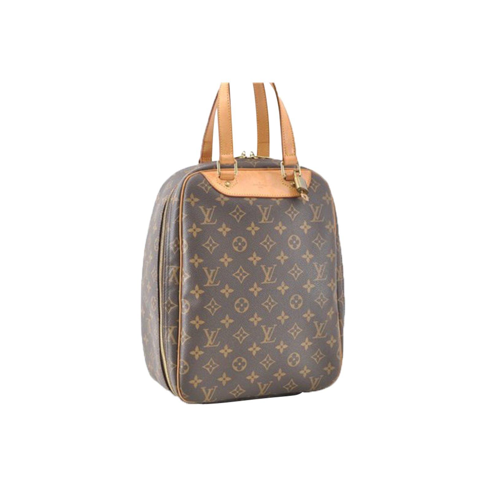 d8d15c2f Louis Vuitton Louis Vuitton Excursion monogram Handbags Cloth Brown  ref.86906