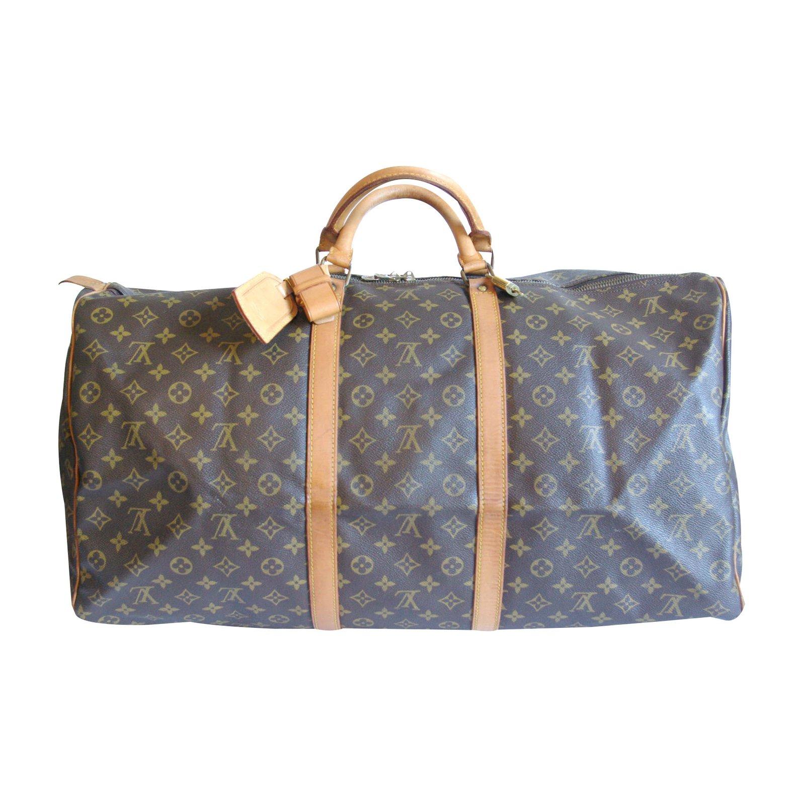 2e0d2bbda590 Sacs de voyage Louis Vuitton keepall 60 Cuir