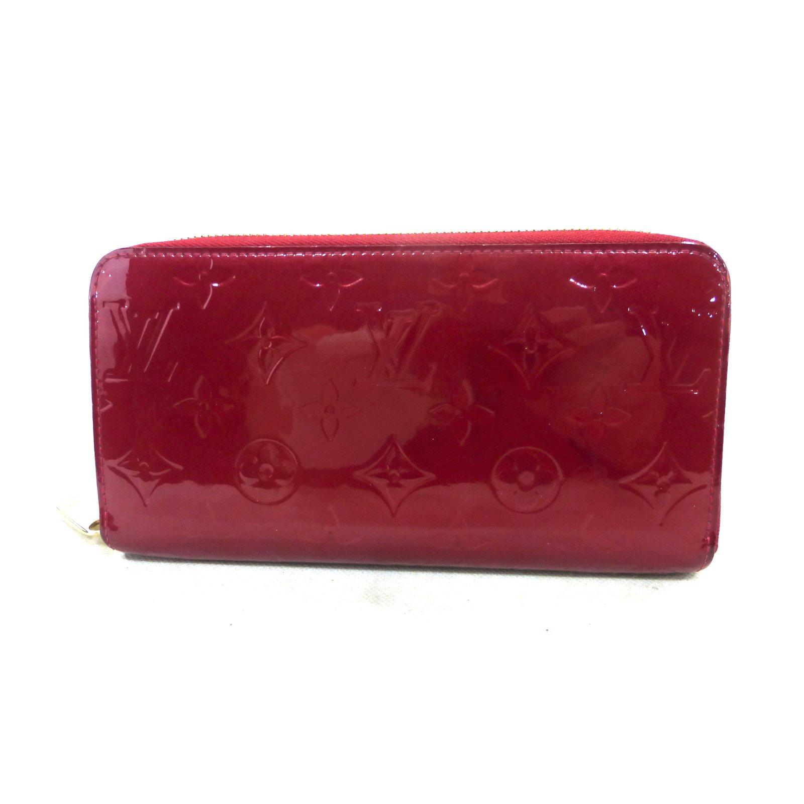 5b2c221436c0 Louis Vuitton Red zippy wallet Purses