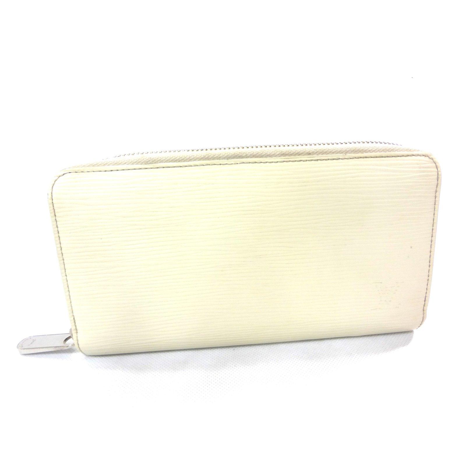 077c6a44e67b Petite maroquinerie Louis Vuitton PORTEFEUILLE ZIPPY EPI CREME Cuir Crème  ref.87443