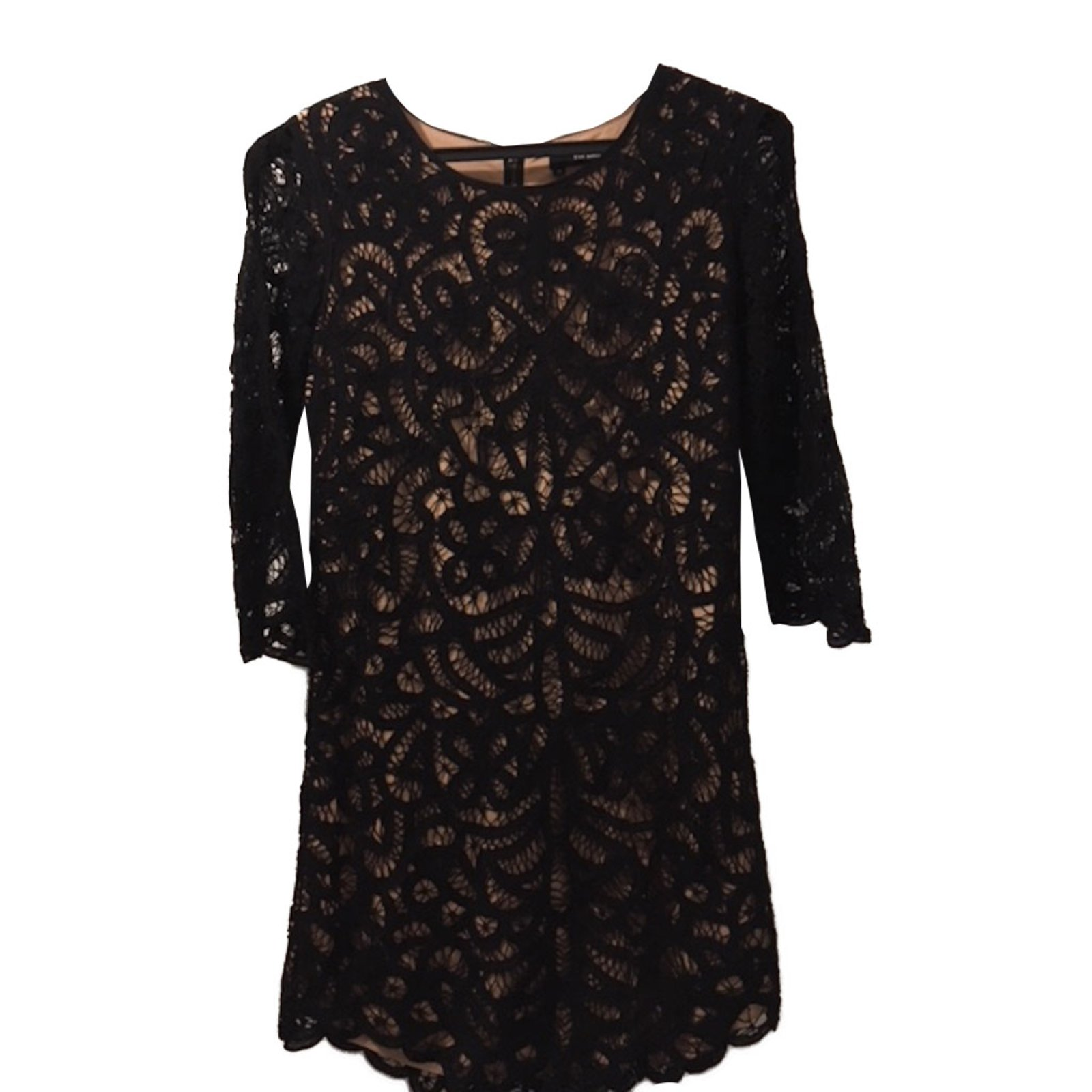 96c31f54d9a The Kooples Lace dress Dresses Lace Black ref.87841 - Joli Closet