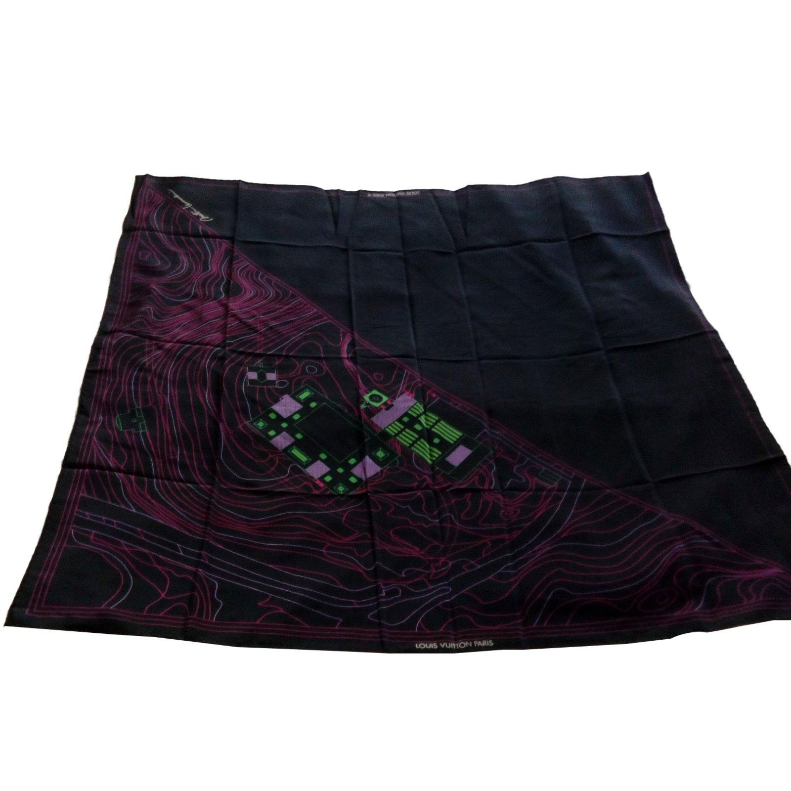 Foulards Louis Vuitton Art de L   Architecture Soie Multicolore ref.87998 e7f92701f7c