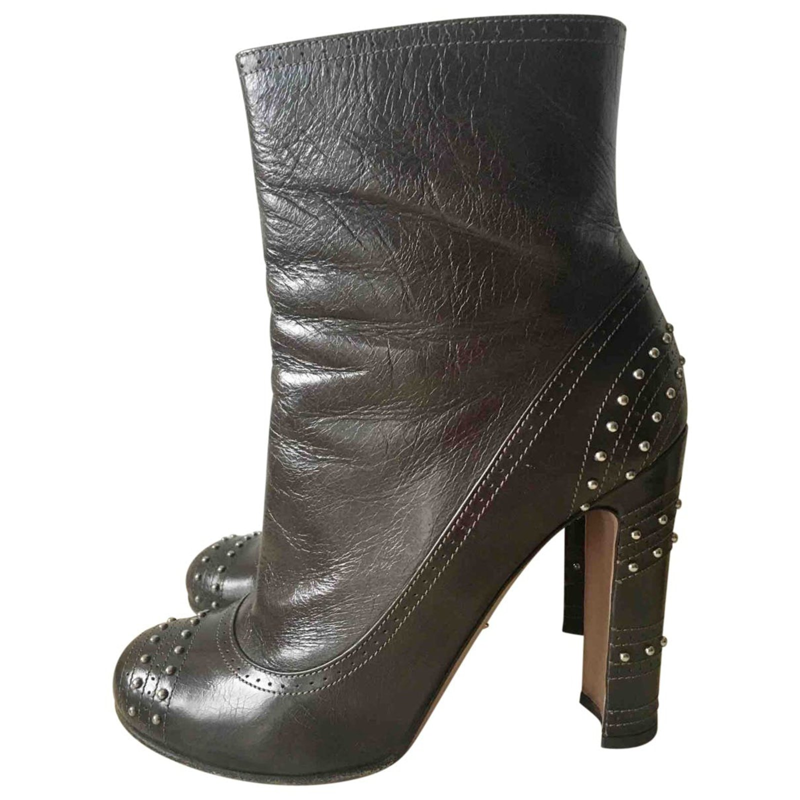 Prada High heels boots Ankle Boots