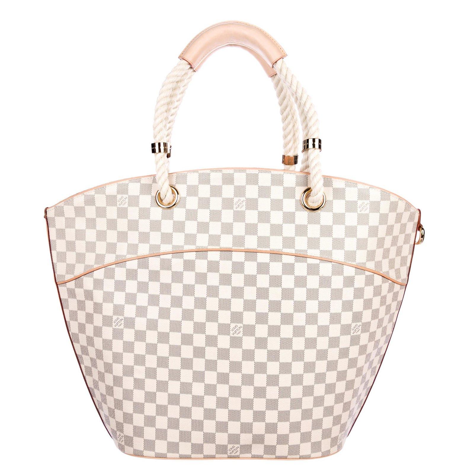f5080c87fc Louis Vuitton Damien Azur Tote Bag Pampelonne GM(large size) Totes Leather  Beige