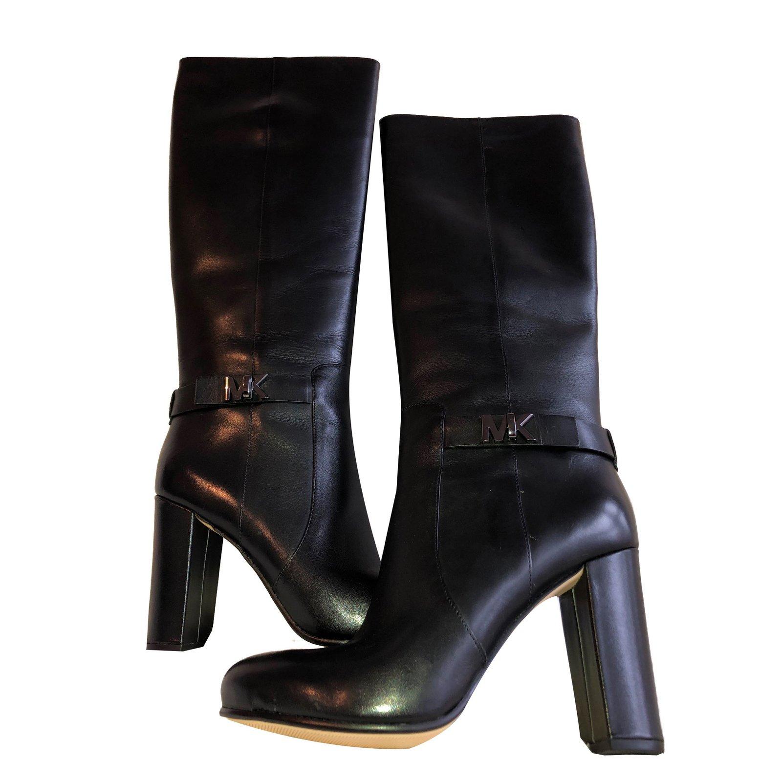 Michael Kors Booots Boots Patent