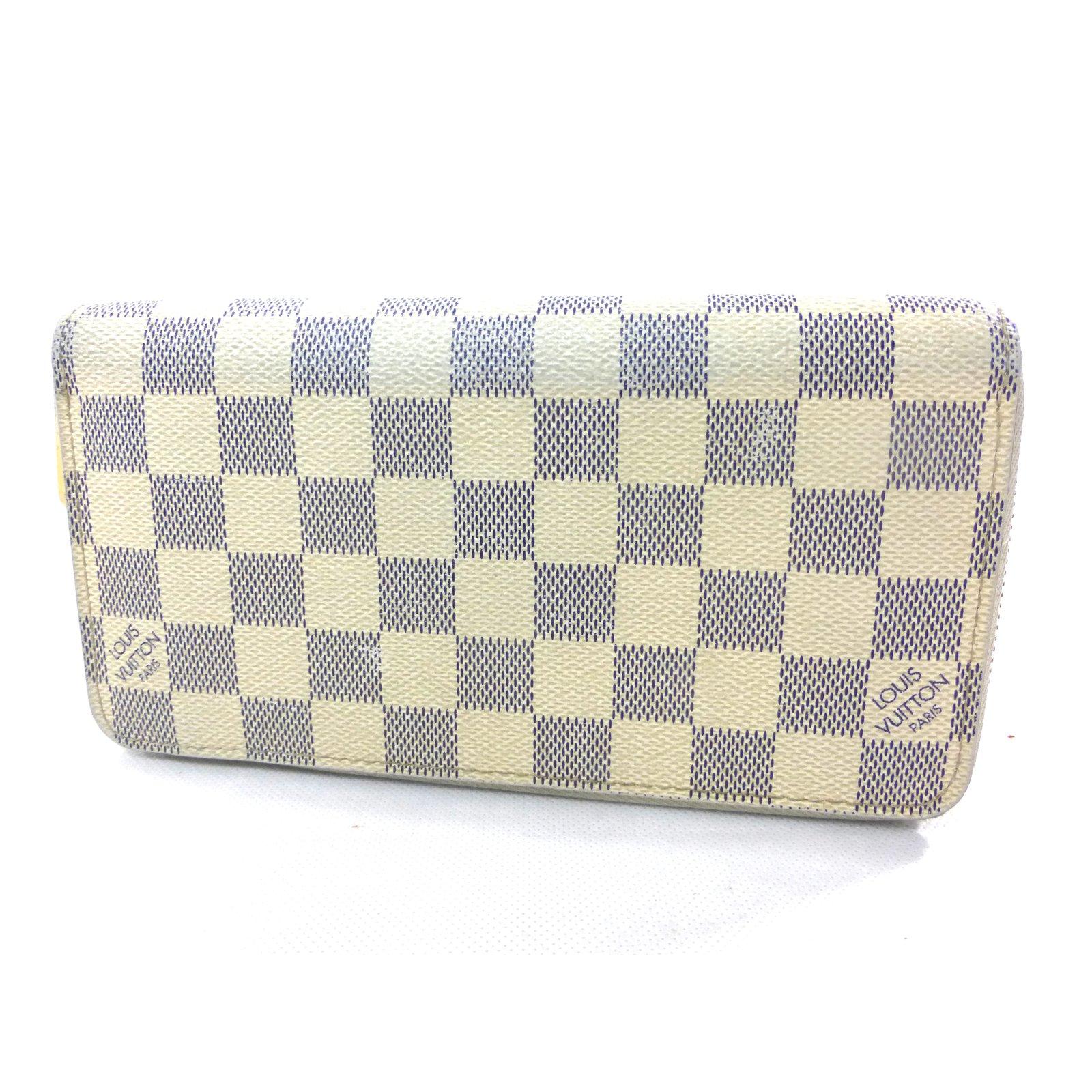 3a7fad381b0d Louis Vuitton Zippy damier azur wallet Purses