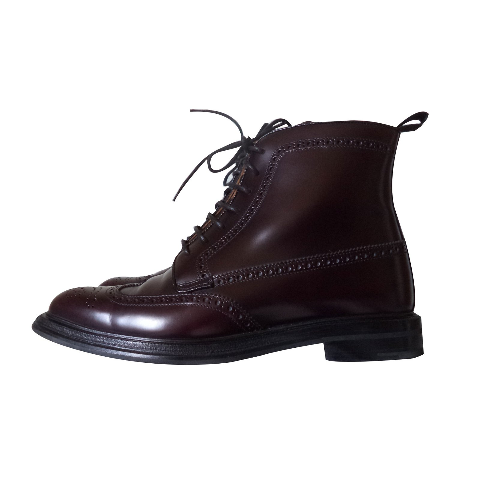 Lace up boots Ankle Boots Leather Dark