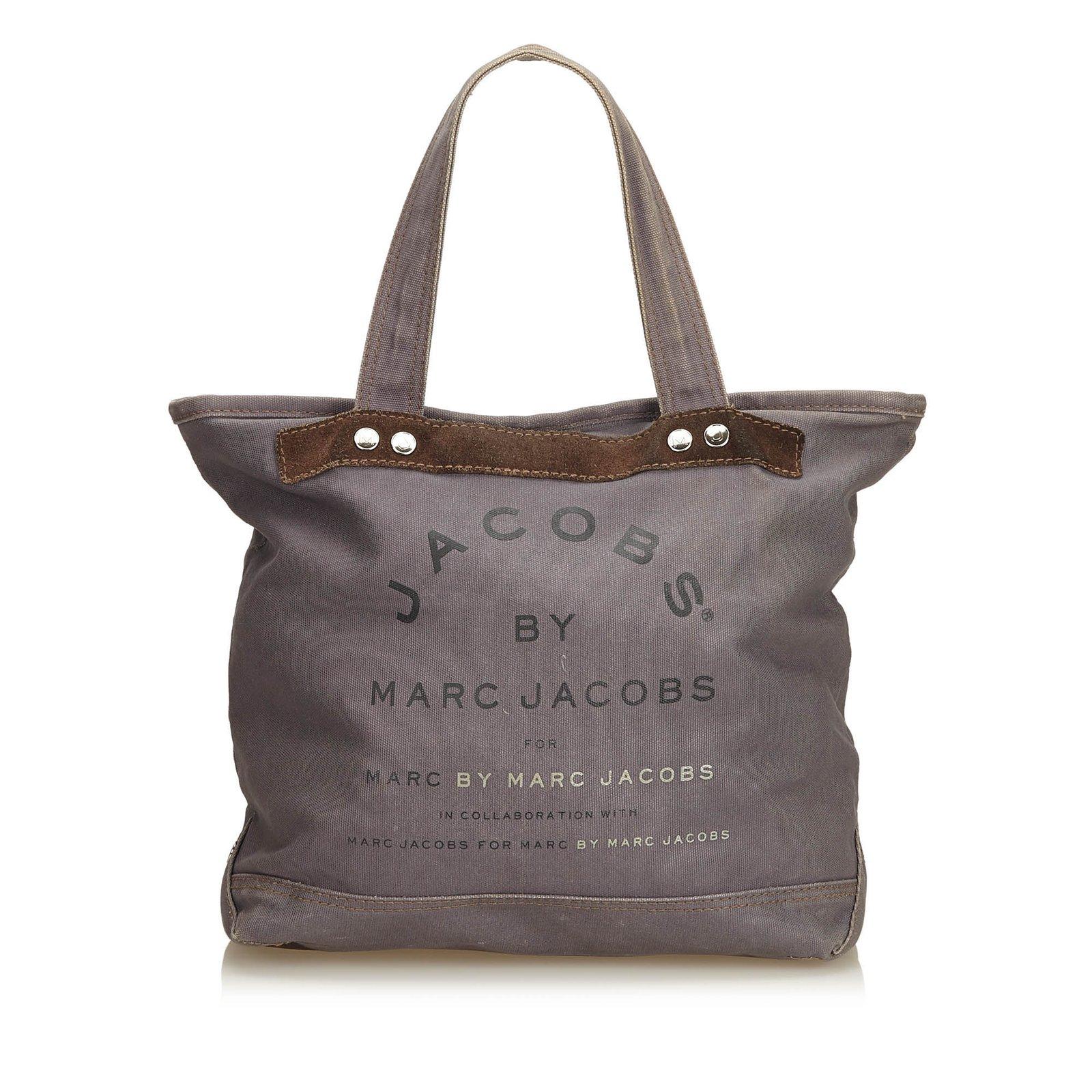 b65add6287c7 Marc Jacobs Printed Canvas Tote Handbags Cloth