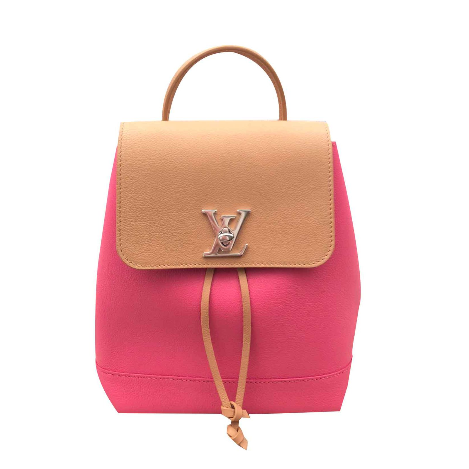 ab2451354698 Louis Vuitton Lockme Backpack Backpacks Leather Multiple colors ref.90811