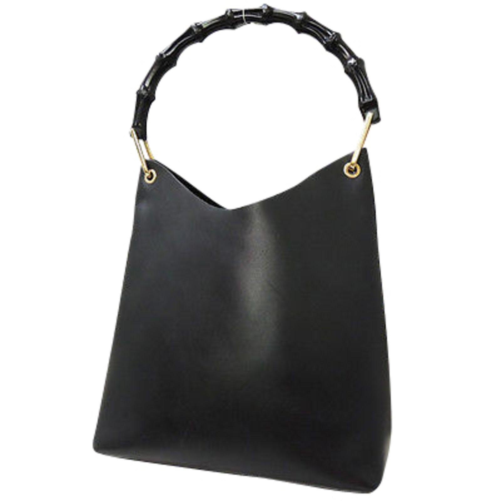 c96bbfacdf1 Gucci Hobo Handbag Handbags Leather Black ref.90844.  M 5ba8384b2beb79da16973b07