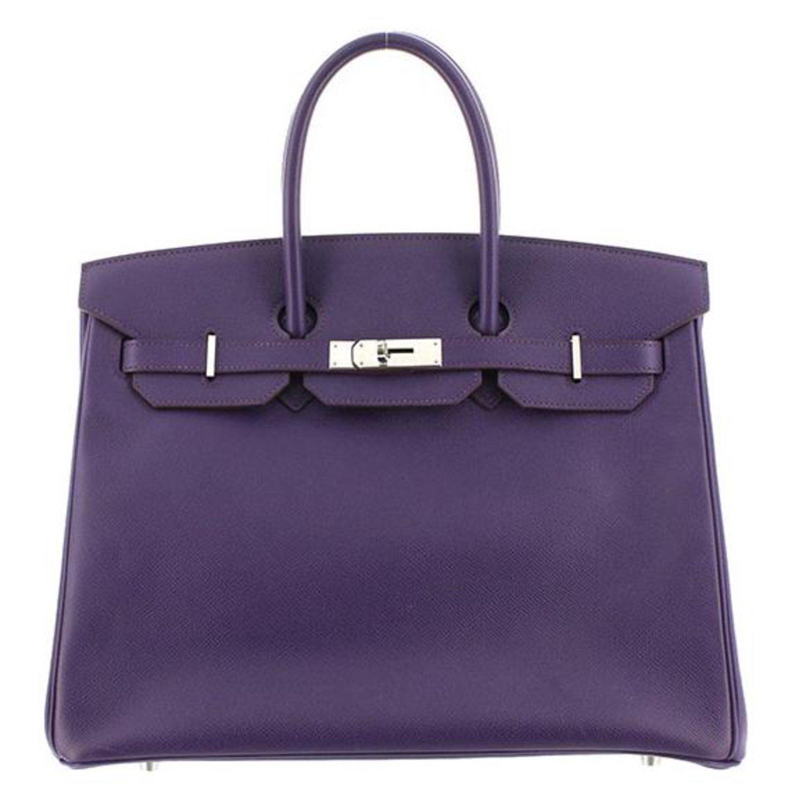 Sacs à main Hermès Birkin Epsom 35 Cuir d3ce466fb1a51
