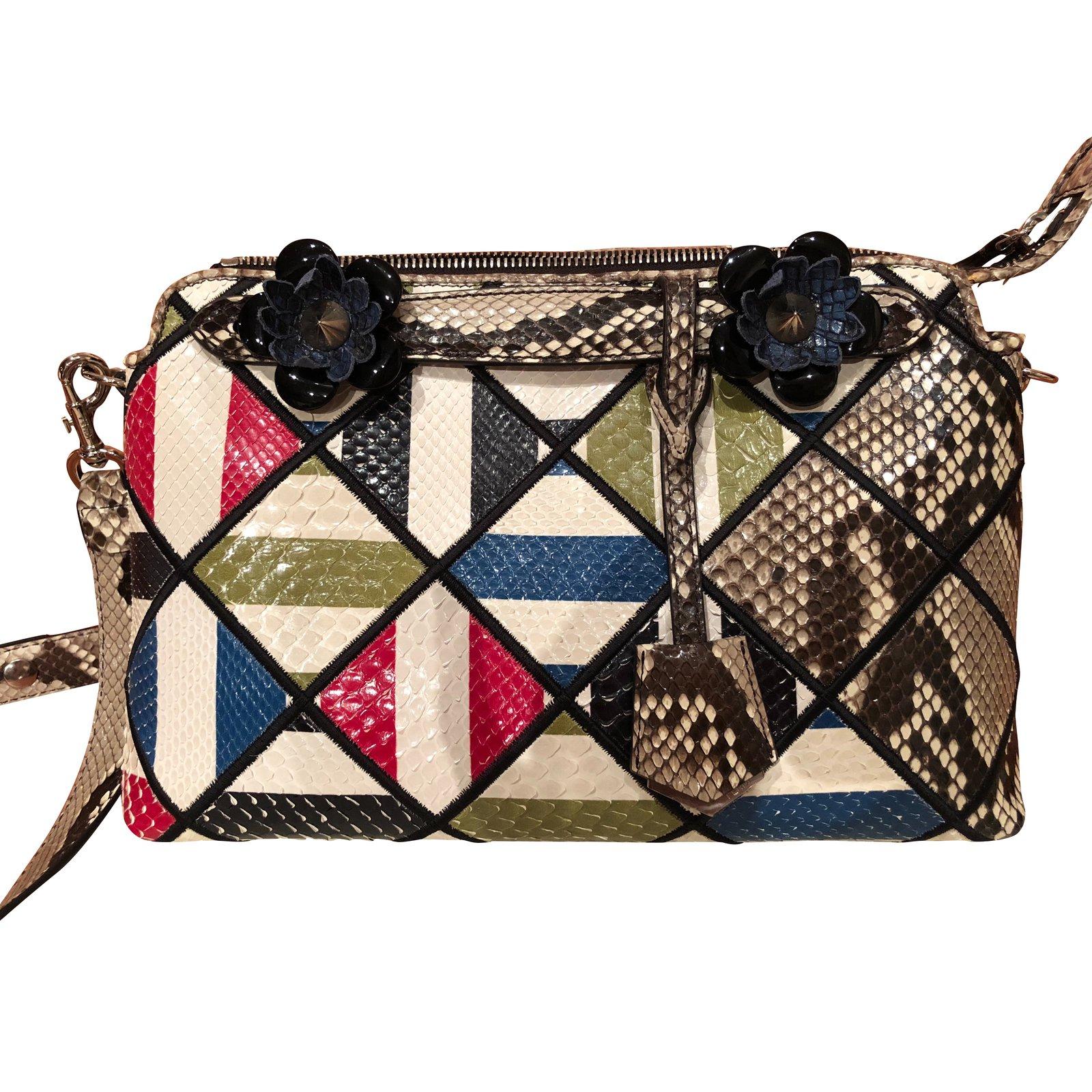 900f19ef800 Fendi Handbags Handbags Python Multiple colors ref.91852 - Joli Closet